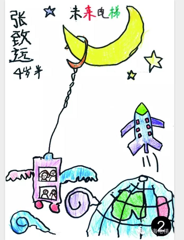 上海市电梯安全儿童绘画比赛