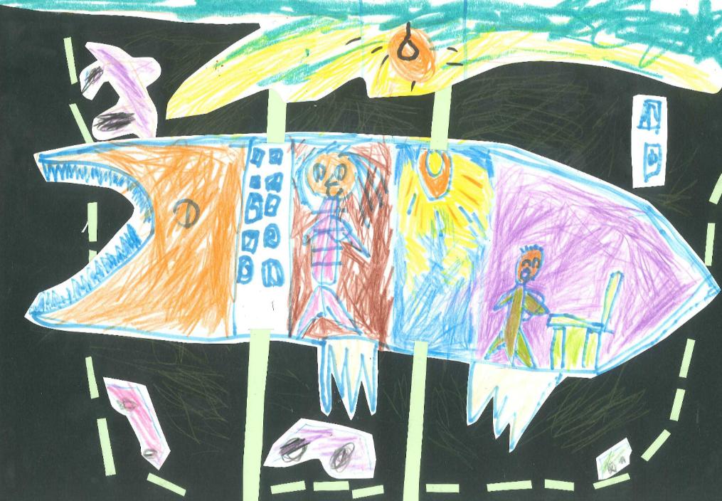 上海市电梯安全儿童绘画比赛作品欣赏(一)